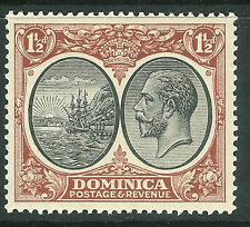 Dominica George V Era (1910-1936) Stamps