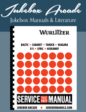Wurlitzer 1977 Service Manual & Parts Baltic - Cabaret - Tarock - Niagara - X-5