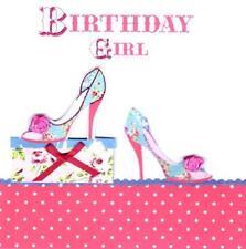 Birthday Girl Pretty Shoes Birthday Card Everything Rosie Greeting Cards