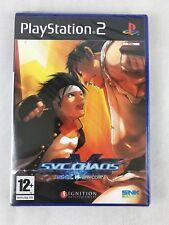 PS2 SNK vs Capcom: SVC Chaos (2005), UK Pal, Brand New & Sony Factory Sealed
