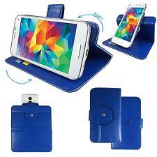 Switel Champ S5003D - Handy Schutz Etui Tasche - 360° M Blau