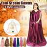 8Types Women Yoni Steam Gown Hip Bath Sweating Detox Clothes Breathable Capes A