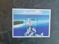 2000 MALDIVES ORCHIDS STAMP MINI SHEET MNH #1