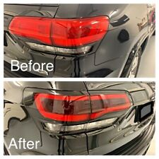 Jeep Grand Cherokee WK2 Taillight Black Out Kit Laminate Tint & Vinyl 2014 +