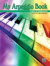 Warner Brothers Videos EL02512a My Arpeggio Book - Piano - Early Intermediate