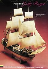 Pirate Ship Jolly Roger Plastic Model Construction Kit Lindberg 1990