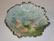 """Vintage Germany Rose Floral 7"""" Plate Silesia"""