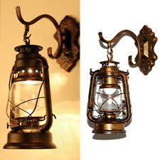 Retro Vintage Industrial Loft Wall Lights Lamp Metal Lantern Pendant Lighting