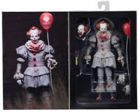 """NECA IT Bloody Version Pennywise Clown Action/Figure Movie Doll New 7"""" Scale Toy"""