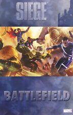 Siege: Battlefield Hardcover 2010 Comic Book