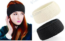 LADIES WOMENS WAFFLE HEADBAND WITH SUPRAFLEECE FOR EXTRA WARMTH. WINTER SKI SNOW