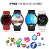 """KingWear KW88 1.39"""" Android 5.1 3G Smartwatch Phone Quad Core 4GB GPS Pedometer"""