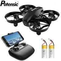 Potensic A20W Mini Drone 720p Camera RC Portable Quadcopter Remote Control Toy