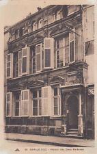 BAR-LE-DUC 55 maison des deux barbeaux timbrée 1945