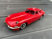Bandai Jaguar XK-E In Red - Excellent Vintage Original Model With Friction