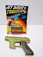 VINTAGE STAR TREK TRACER GUN AND JET DISCS RAYLINE SPACE TOYS READ DESCRIPTION