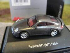 1/87 Schuco Porsche 911 (997) Turbo dunkelgrau 452619900