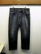 Mens Hugo Boss Texas Blue Jeans denim Straight Cut Size 36/34  GUC Free Shipping