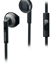 Philips She3205bk Headphones Black Compatible With All Smartphones