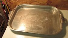 Wear Ever Aluminum Roaster Broiler Pan No. 10