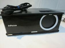 InFocus IN2114 DLP 3000 Lumens DLP Projector w/Power Cable - 1969 Lamp Hours