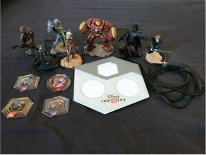 Disney Infinity Bundle | Portal Base | 7 Characters | Power Disc Set |
