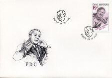 Czech Rep 2018 FDC Miroslav Hornicek Czech Actor 1v Cover Actors People Stamps