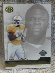 Travis Henry 2001 Pacific Dynagon Top of the Class #6 football card