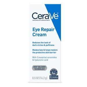 CeraVe Eye Repair Cream for Dark Circles and Puffiness .5 oz. #A3