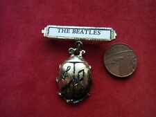 More details for a vintage metal pin brooch 'the beatles'