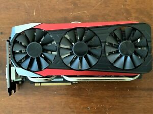 ASUS STRIX AMD Radeon R9 FURY video card DC3-4G