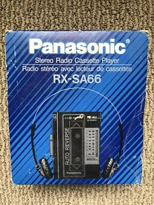 Panasonic RX-SA66 Stereo Radio Cassette Player Vintage New