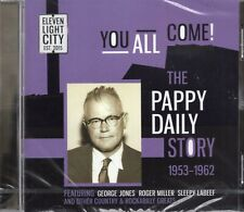 The Pappy Daily Story 1953-1962 (George Jones/Roger Miller/Sonny Burns) CD