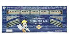 BRAND NEW Disney Parks Mickey & Friends Monorail Train Playset - Orange