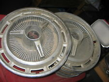 Set of 5 SS Hubcaps
