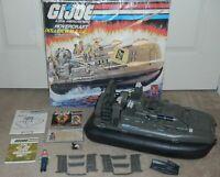 1984 GI Joe Killer Whale Hovercraft Box Blueprints w/ Cutter File Card *Complete