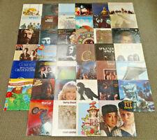 "Lot (40) 1970's Rock/Pop/Folk 12"" Vinyl Croce,Cocker,Doors,King,S antana,Stevens"