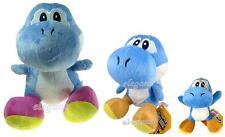 Nintendo Super Mario Brothers 3 Blue Yoshi Stuffed Toy Soft Plush Doll Set