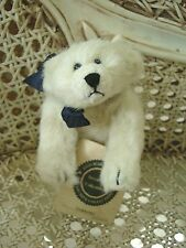 "BOYDS FAIRBANKS RETIRED 6"" POLAR BEAR CUTE  **NEW STORE STOCK**"