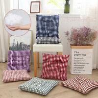 15.8in Soft Square Cotton Seat Cushion Home Garden Outdoor Chair Patio Car Sofa