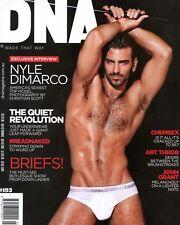 DNA Magazine #193 gay men ALEKSANDER DOROKHOV DIEGO SECHI NYLE DIMARCO