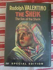 ☆☆The Sheik - Son of The Sheik Rudolph Valentino DVD☆☆