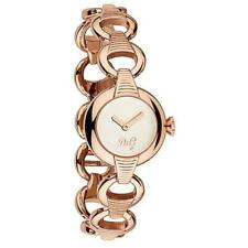 D&G Dolce & Gabbana DW0344 Pattern Armbanduhr Damen, Edelstahl, Roségold - Neu