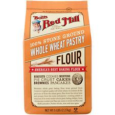Bob's Red Mill 100% Stone Ground Wheat Pastry Flour 5lbs Non-GMO SHIPS FREE!