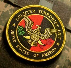 USA Naval Intelligence COUNTER TERRORIST UNIT vêlkrö Insignia Patch (Full Color)