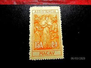 Macao RA8 15a XF mint ngai cat 20.-