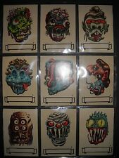 1966 MAKE YOUR OWN NAME (UGLY MONSTER) STICKERS COMPLETE SET(33) TOPPS