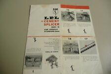 Instructions cine movie film splicer LPL for 8mm & super 8 - CD/Email