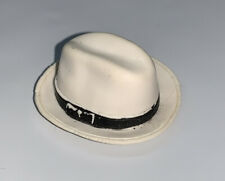 WWE White Fedora Hat Accessory Jakks Mattel Elite Figure Clothes A4