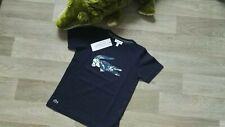 """🐊 Original""""Lacoste"""" Jungen T-Shirt, Gr.110, Blau, Neu"""